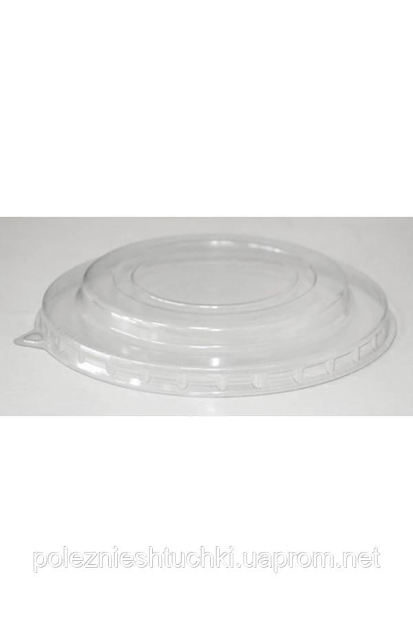 Крышка полукупольная РЕТ прозрачная Ǿ=150мм, 20мм