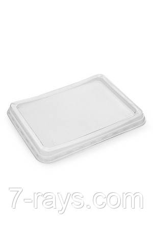 Крышка к контейнеру 190*144*16мм прозрачная, PET (Контейнер 015135, 015132, 15133, 015134, 015130, 0