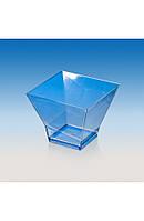 """Пиала-форма фуршетная """"Пагода-120"""" 67х67х53 мм., 120 мл. прозрачная, стеклоподобная, фото 1"""