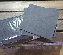 Серветка чорна 1 шарова, 24х24 див., 300 листів/уп целюлоза FESKO