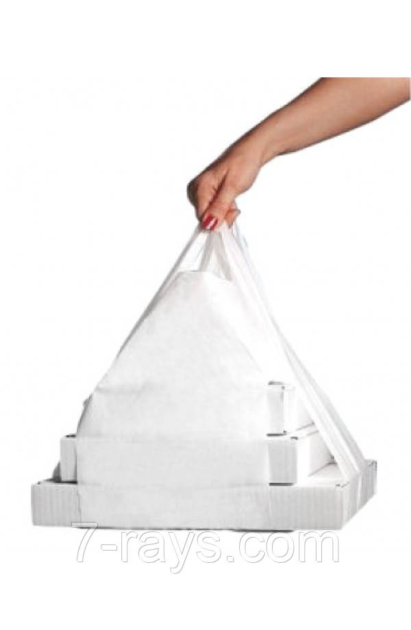 Пакет S прозорий поліетиленовий для коробок під піцу розмірами від 200*200мм до 280*280мм