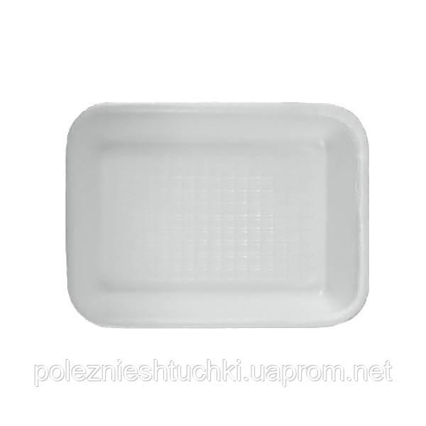 Підкладка для напівфабрикатів 17,8х13,3х2,5 см. з спіненого полістиролу, біла (аналог C-3)
