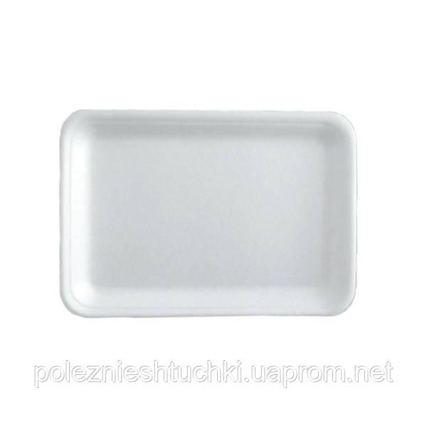 Підкладка для напівфабрикатів 25х17,5х2 див. зі спіненого полістиролу, біла