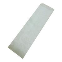 Пакет паперовий з бічною смугою для столових приладів 19х7,2 див., 38 г/м2, 2000 шт/ящ білий крафт
