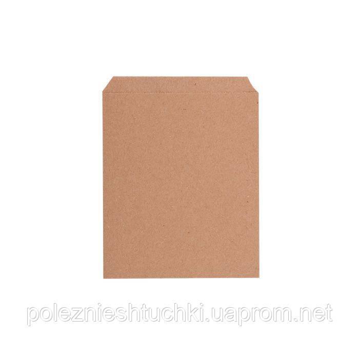Пакет бумажный для денег 11х15 см., 70 г/м2, 1000 шт/ящ бурый крафт (89000)