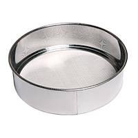 Сито кухонное 19х4  см. для просеивания муки, нержавеющая  сталь (2166-3)