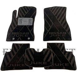 Текстильні килимки в салон Nissan Juke 2010- (AVTO-Tex)