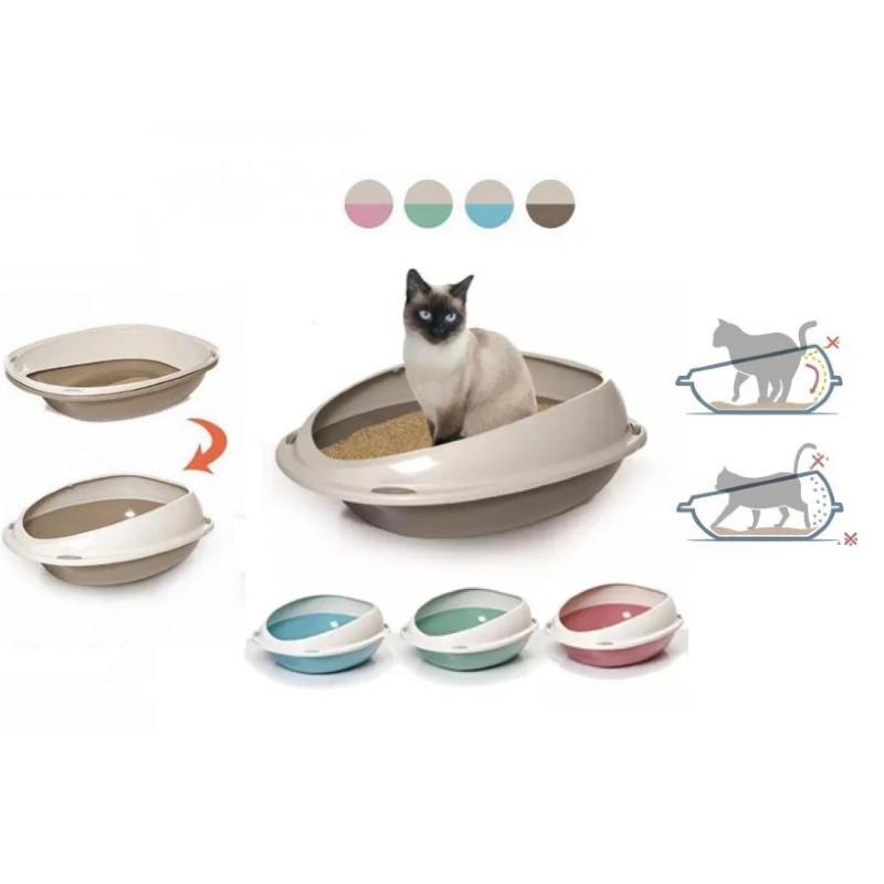 Пластиковый туалет Georplast Shuttle для кошек, 57 x 40 x 19 см