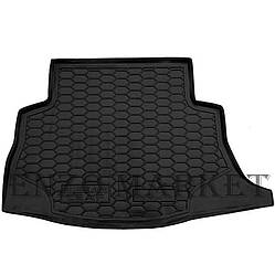 Автомобільний килимок в багажник Nissan Leaf 2012-/2018- (без сабвуфера) (Avto-Gumm)