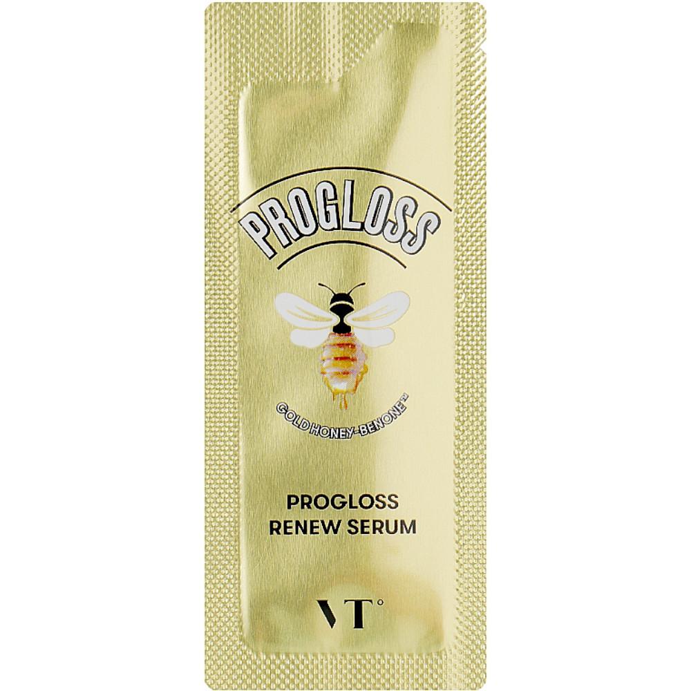 Сыворотка для тусклой кожи лица с пчелопродуктами VT Cosmetics PROGLOSS RENEW SERUM - 1,5 мл