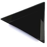 Треугольник пластиковый для страз и декора, черный