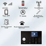 Розумна сигналізація для дому Wi-smart AP18 з Wi-Fi, GSM сигналізація в квартиру, фото 4