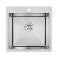 Кухонная мойка Imperial Handmade D5050 2.7/1.0 мм (IMPD5050H10)