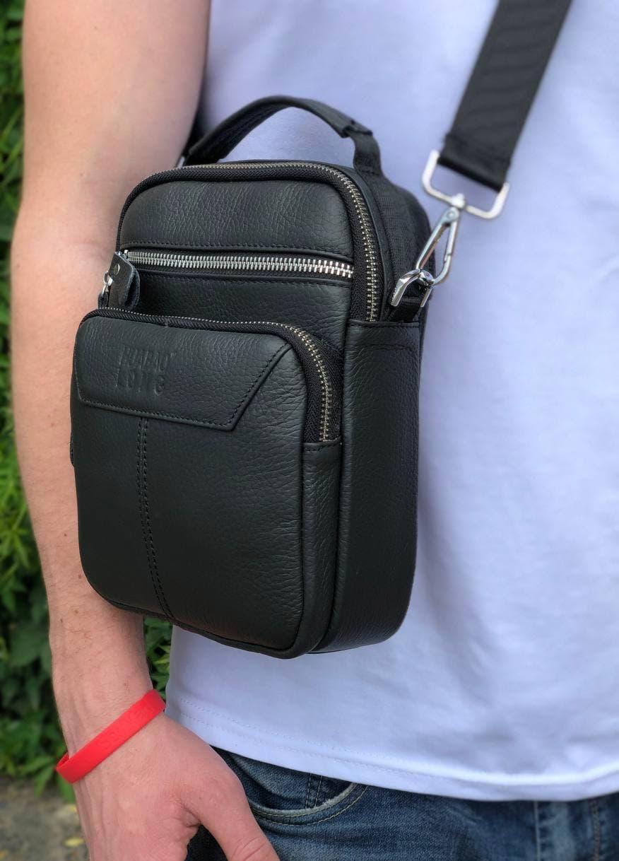 Мужская кожаная сумка через плечо мессенджер Bexhill B85C