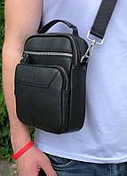 Мужская кожаная сумка через плечо мессенджер Bexhill B85C, фото 1