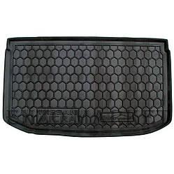 Автомобільний килимок в багажник Nissan Micra (K13) 2010- (Avto-Gumm)