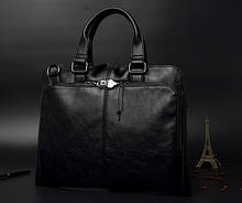 Качественная мужская сумка для ноутбука эко кожа, мужской портфель под ноутбук, планшет, лаптоп, макбук