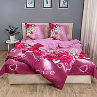 """Комплект постельного белья KrisPol """"Цветы на розовом"""""""
