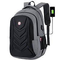 Рюкзак городской с USB выходом (СР-1207)