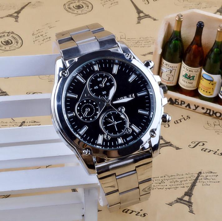 Чоловічі наручні годинники V8 в стилі Armani