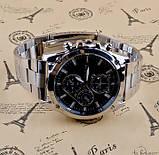 Чоловічі наручні годинники V8 в стилі Armani, фото 6