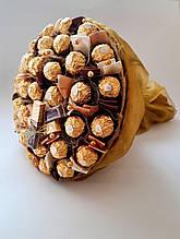 Букет из конфет Фортуна подарок для мужчина / женщины солидный букет