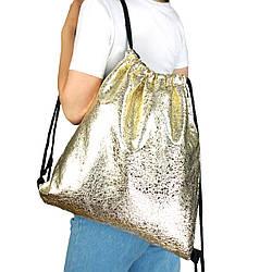 Рюкзак мешок на шнурках из текстиля для сменки