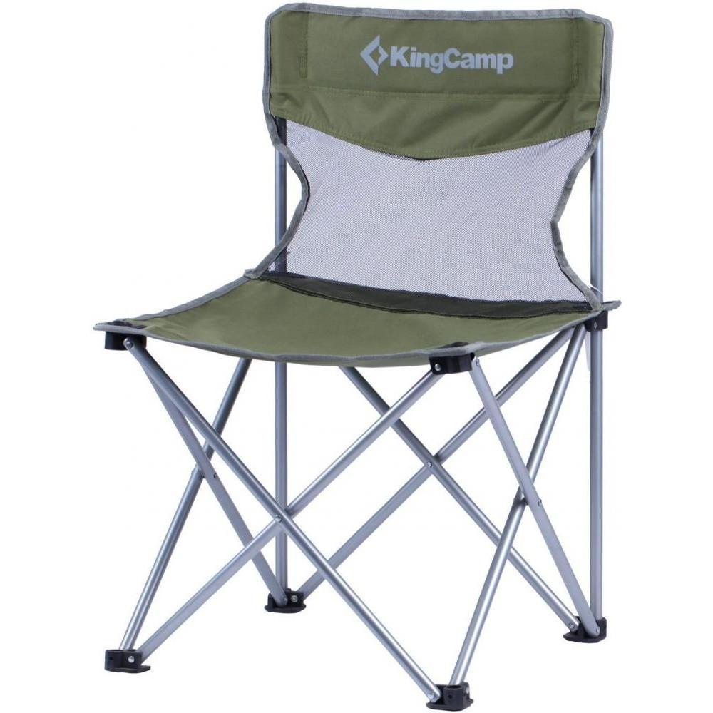 Раскладное кресло KingCamp Compact Chair in Steel M Dark green (KC3832 Dark green)