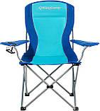 Розкладне крісло KingCamp Arms Chairin Steel Blue (KC3818 Blue), фото 2