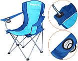 Розкладне крісло KingCamp Arms Chairin Steel Blue (KC3818 Blue), фото 5