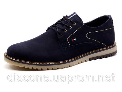 Туфли спортивные H.Denim, мужские, темно-синие