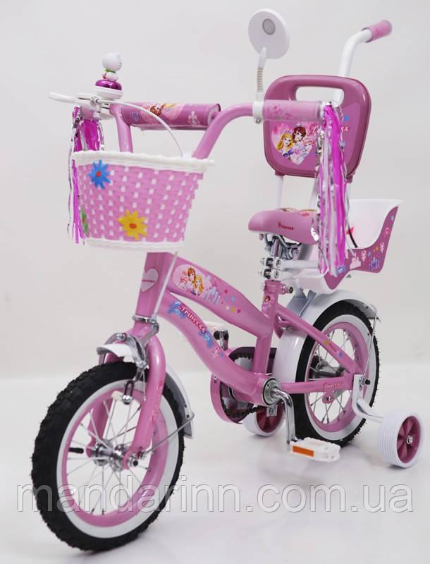 Велосипед дитячий Princess-RUEDA(Принцеса-Руеда) 12-03B. Колеса 12д.