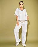 Жіночий костюм двійка футболка і штани 3 забарвлення розмір: 50-52, 54, 56, фото 3