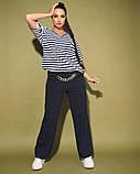 Жіночий костюм двійка футболка і штани 3 забарвлення розмір: 50-52, 54, 56, фото 4