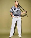 Жіночий костюм двійка футболка і штани 3 забарвлення розмір: 50-52, 54, 56, фото 8