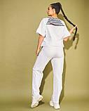 Жіночий костюм двійка футболка і штани 3 забарвлення розмір: 50-52, 54, 56, фото 9