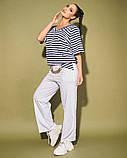 Жіночий костюм двійка футболка і штани 3 забарвлення розмір: 50-52, 54, 56, фото 10