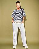 Жіночий костюм двійка футболка і штани 3 забарвлення розмір: 50-52, 54, 56, фото 2
