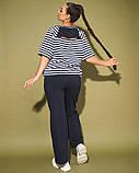 Жіночий костюм двійка футболка і штани 3 забарвлення розмір: 50-52, 54, 56, фото 7
