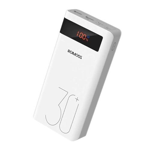 Power Bank Внешний аккумулятор 30000мАч QC3.0 ЖК 18Вт Romoss Sense 8P+ Premium, 105570