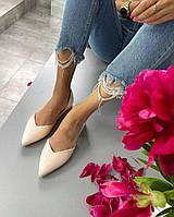 Женские туфли лодочки на низком ходу из лакированной кожи. Размеры 36-40, фото 1