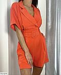 Жіночий комбінезон з шортами з кишенями, фото 2