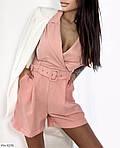 Жіночий комбінезон з шортами з кишенями, фото 3