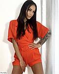 Жіночий комбінезон з шортами з кишенями, фото 5