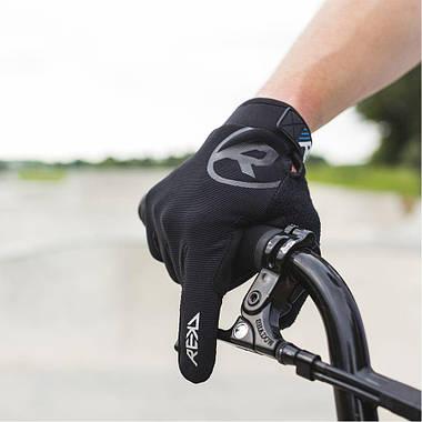 Рукавички велосипедні REKD Status Long XL Black, фото 2