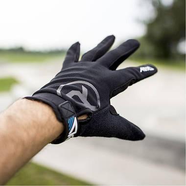 Перчатки велосипедные REKD Status Long XL Black, фото 3