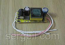 LED драйвер 20Вт 600мА 21-36В, питание 100-265В