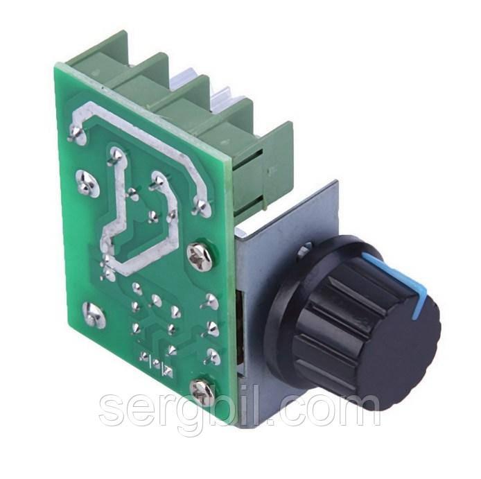 Регулятор мощности (диммер) 220В 2кВт симмисторный BTA16