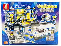 Детский конструктор Sluban Фабрика звезд Разноцветный 656 деталей Яркий Конструктор M38-B0171