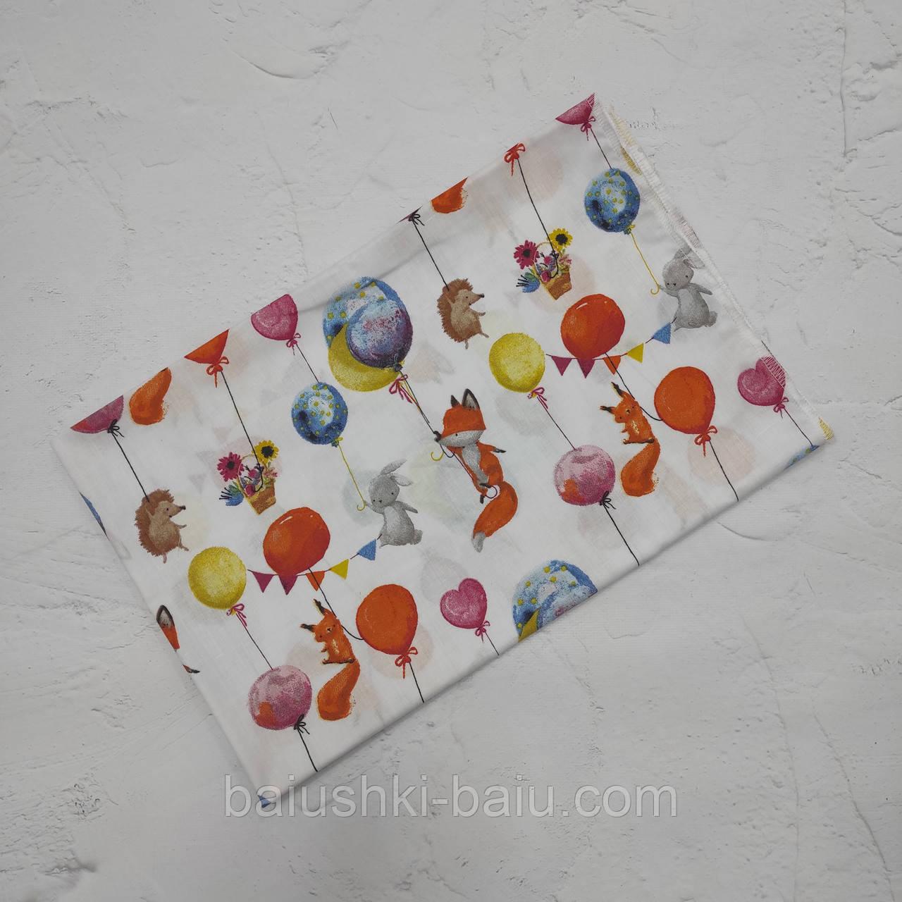 Хлопковая пеленка в роддом для новорожденного